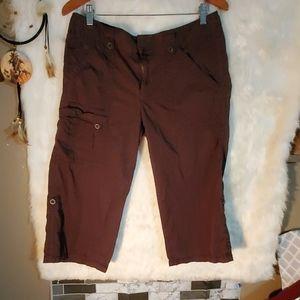 Calvin Klein cargo ankle pants size 12
